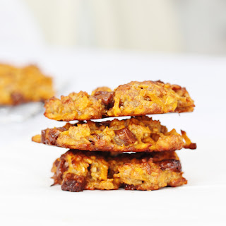 Spiralized Sweet Potato and Chocolate Chip Cookies from Spiralize Every Day.
