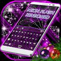 Neon Flash Keyboard icon