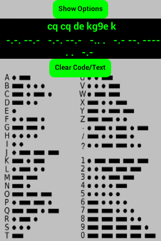 2 Amateur ham radio Morse code CW practice keys- screenshot