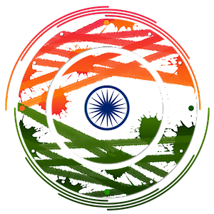 Indian flag clock for PC and MAC