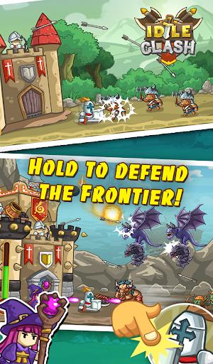 Idle Clash - Tap Frontier Defender 1.94 screenshots 2