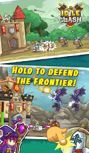 Idle Clash - Tap Frontier Defender Screenshot