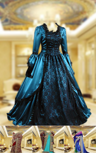 Royal Bridal Dress Photo Maker 2.1 screenshots 2