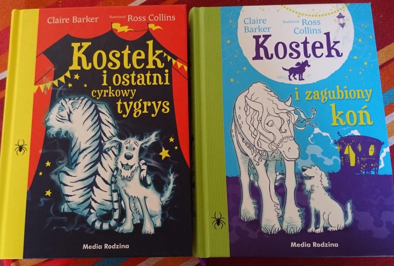 Claire Barker, Kostek, tom 2 i 3