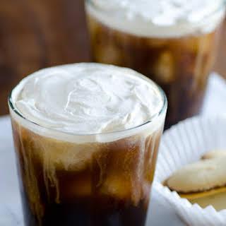 Salted Cream Iced Coffee with Pepperidge Farm® Milano® Cookies.