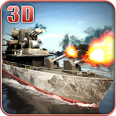 World War Naval Battle 3D