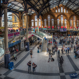 Liverpool Street Station by Krasimir Lazarov - Buildings & Architecture Public & Historical ( london, street, united kingdom, station, liverpool, architecture )