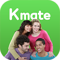 Kmate- Learn languages with natives🌏 icon