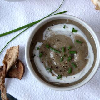 Creamy Pureed Mushroom Soup