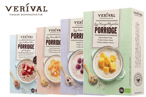 Bild für Cashback-Angebot: VERIVAL Porridge - Verival