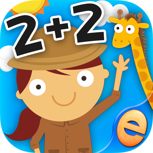 子供のための動物数学ゲーム2 + 2 教育 App LOGO-APP試玩