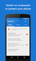 Screenshot of Lockwatch - Protect Your Phone