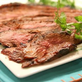 Grilled Teriyaki Flank Steak