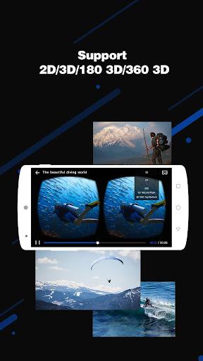 3D VR Player-3D Movie Video 1.11.0220.1002 screenshots 2