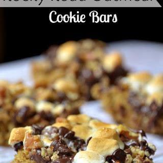 Rocky Road Oatmeal Cookie Bars