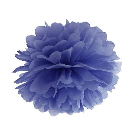 Pom pom - mörkblå 35 cm
