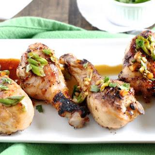Sesame Glazed Chicken Drumsticks.