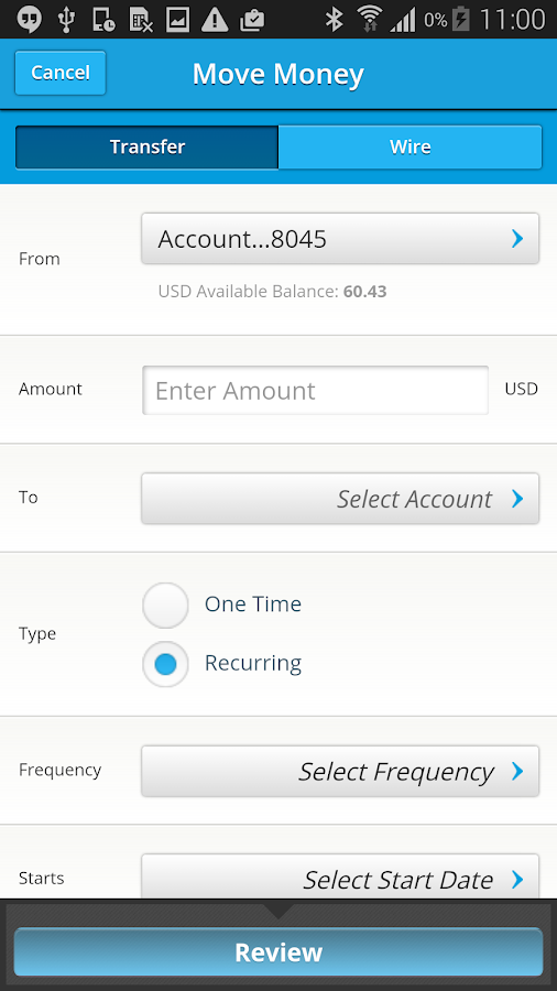 SVB Mobile Banking- screenshot