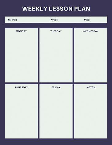 Simple Planner - Planner template