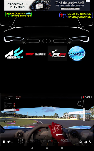 Dr.Falcon Sim Racing - Live TV 100 screenshots 1