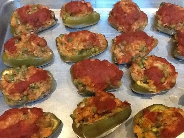Turkey Stuffed  Peppers Recipe