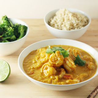 Pumpkin-Shrimp Curry
