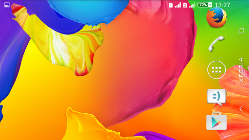 Theme Xperien Rainbow Colors screenshot 5