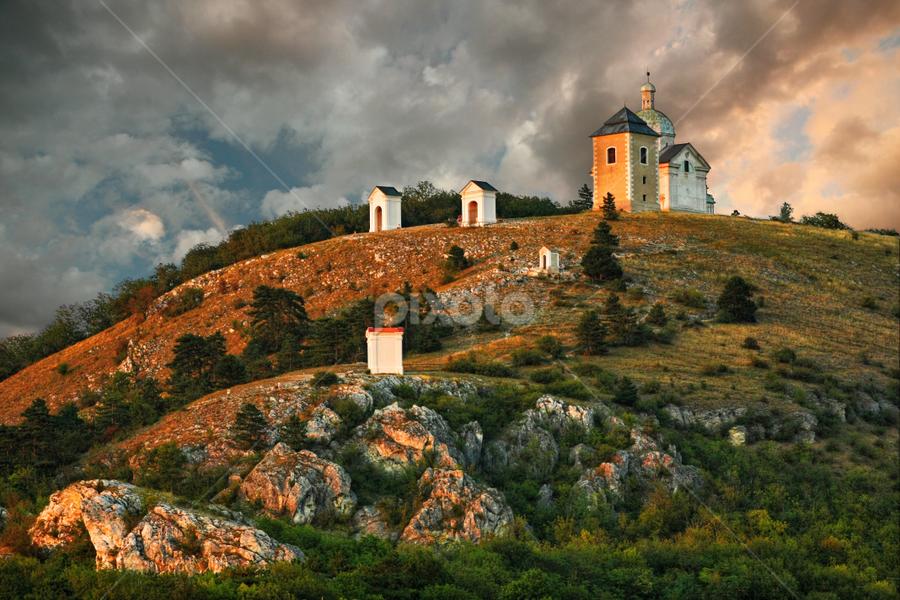 Svatý kopeček, Mikulov by Irena Brozova - Landscapes Mountains & Hills