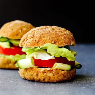 Vegan Gluten-Free Potato Buns.