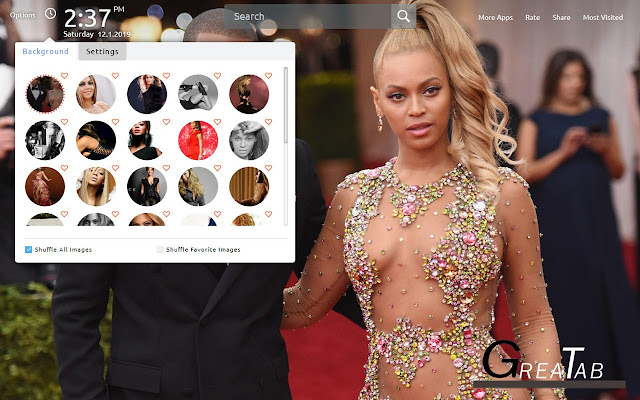 Beyonce Wallpapers Beyonce Theme|GreaTab