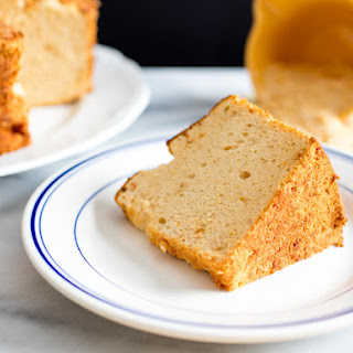 Toasted Sugar Angel Food Cake.