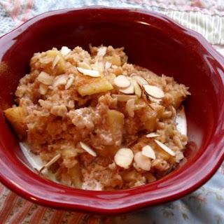 Apples & Cinnamon Oatmeal
