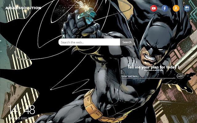 Batman Wallpaper - New Tab Theme