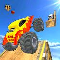 US Monster Truck Ramp Stunts : Mega Ramp Stunts icon
