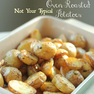 [Not Your Typical] Oven Roasted Potatoes