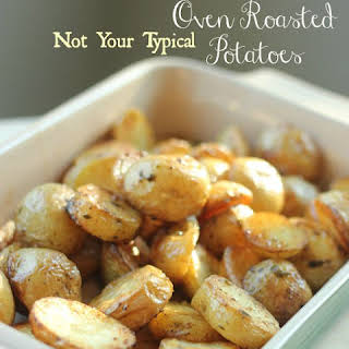 [Not Your Typical] Oven Roasted Potatoes.
