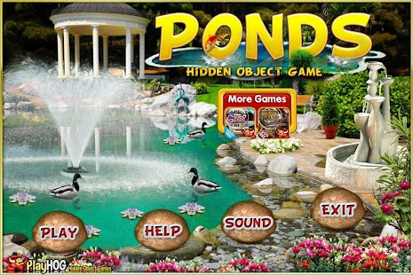 Challenge #160 Ponds New Free Hidden Objects Games - náhled