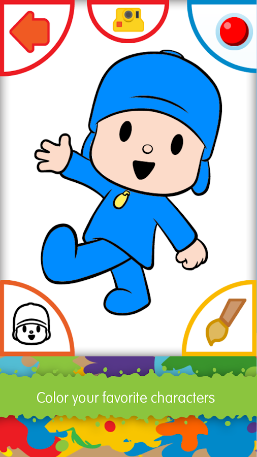 Pocoyo Colors Free Android Apps On Google Play Color Free