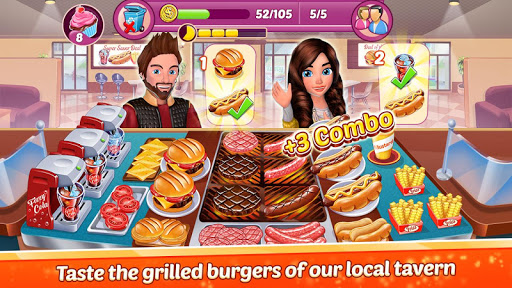 Restaurant Empire : Kitchen Chef Food Cooking Game  captures d'écran 2