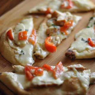 Olive Garden Grilled Chicken Flat bread.