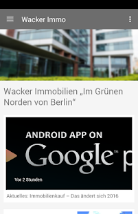 Wacker Immobilien- screenshot thumbnail