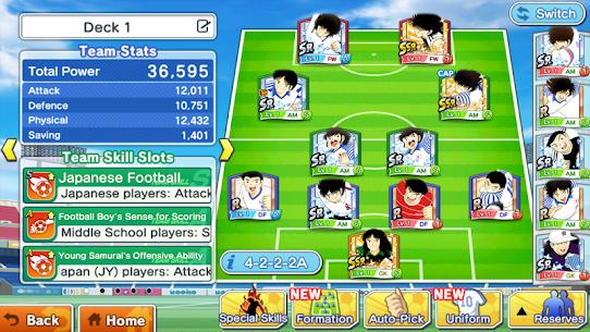 Captain Tsubasa: Dream Team Apk Mod (Poder Infinito + Stamina Infinita) 7