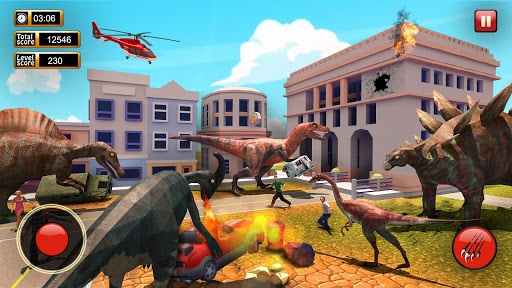Monster Dinosaur Simulator: City Rampage screenshots 2