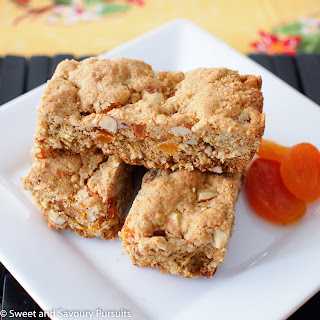 Whole Wheat Apricot and Almond Bars