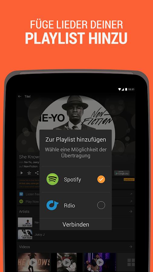 SoundHound Musik & Songtexte - screenshot