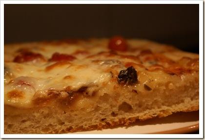 Pizza bollicine