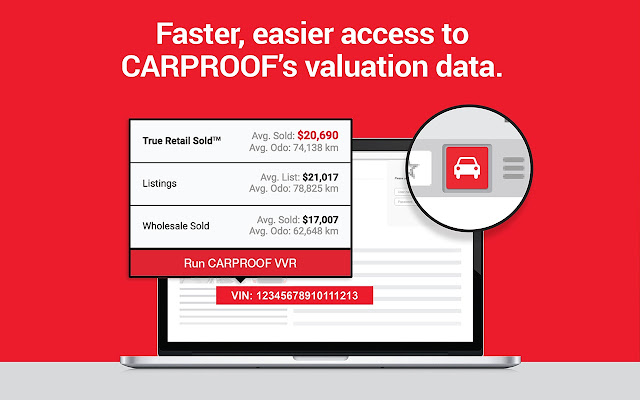 CARPROOF VVR QuickView™