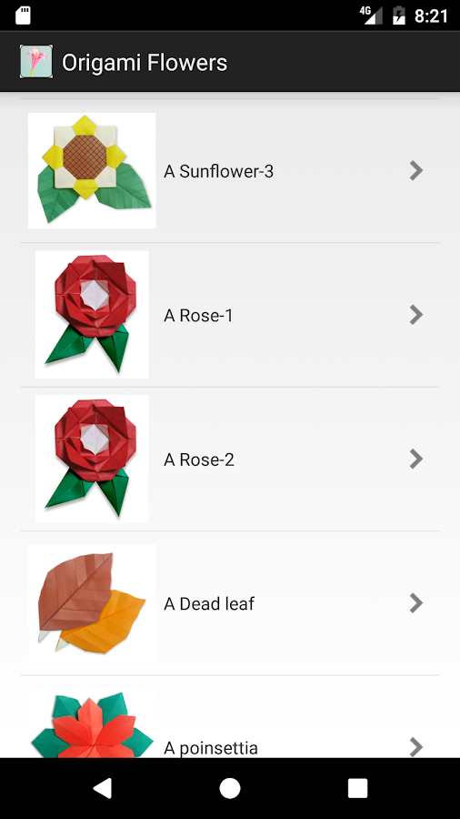 Origami Flowers - Android Apps on Google Play - photo#43