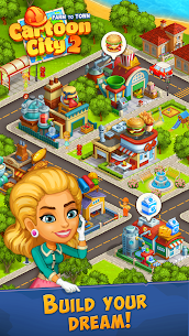 Cartoon City 2: Farm to Town.Build Mod Apk (Unlimited Money) 1