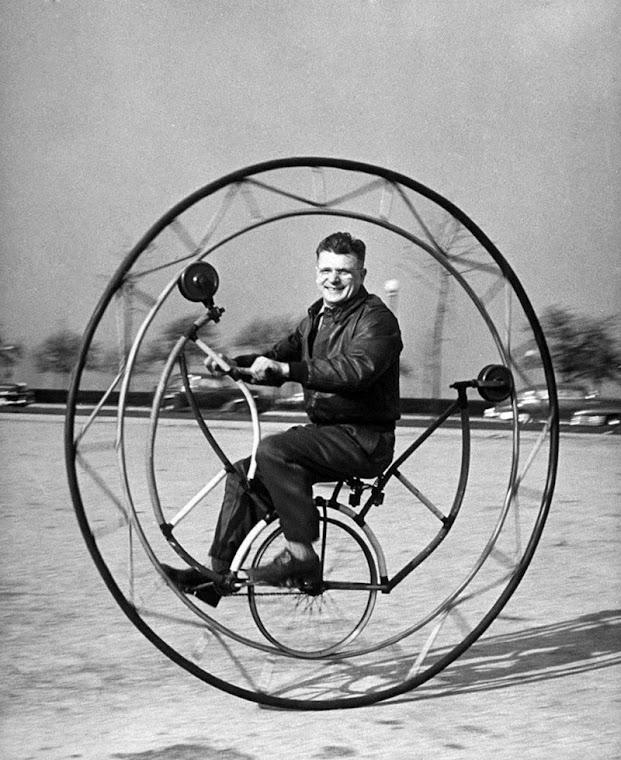 A evolução das bicicletas e as bizarras bicicletas de 1948